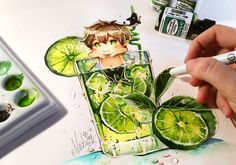 Makoto Tonic Summer Splash by Naschi on DeviantArt