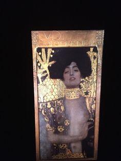 "Gustav Klimt ""Judith & Holofernes"" Austrian Art Nouveau 35mm Glass Art Slide  | eBay"