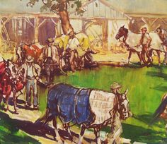 Original Oil Painting by Leslie Cope Exercise by paintingsandart, $2250.00