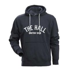 Hall of Fame Hudson Hooded Pullover - Navy. Click to order!