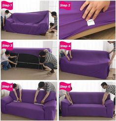 Solid Sofa Cover – The Couch Rescue