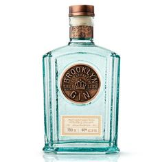 Gin is a phenomenal spirit, I far prefer it to vodka or rum an the fact that it's a great to drink with tonic and fresh.Brooklyn Gin is a relatively. Alcohol Bottles, Liquor Bottles, Bottles And Jars, Glass Bottles, Tequila, Vodka, Bottle Packaging, Brand Packaging, Packaging Design