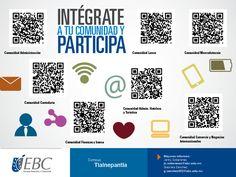 Intégrate y únete a tu comunidad #CampusTlalneplantla #SoyEBC