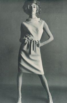 Marika Green by Helmt Newton, Vogue 1965