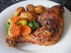 Knusprige Hähnchenkeulen / Hähnchenschenkel aus dem Ofen, ein schmackhaftes Rezept aus der Kategorie Geflügel. Bewertungen: 473. Durchschnitt: Ø 4,3.