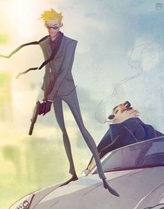 OMG OMG I LOVE this because I love Calvin & Hobbes! Secret Agents Calvin and Hobbes