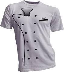 Resultado de imagen para t shirt con serigrafia de chef