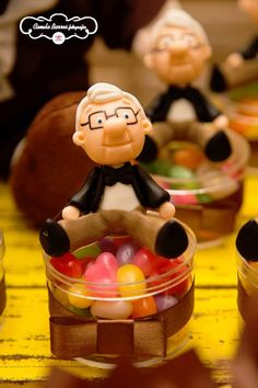 Mr. Fredricksen Favors from a Disney's Up Inspired Birthday Party via Kara's Party Ideas! KarasPartyIdeas.com (3)