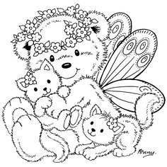 Beary mignon 705   32 coloriage à imprimer