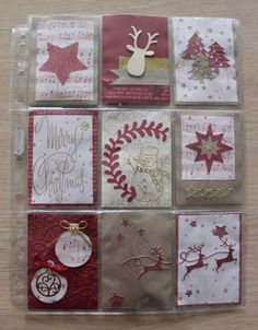Noël de A à Z - A comme ... - Page 7 Buy Gift Cards Online, Best Gift Cards, Atc Cards, Journal Cards, Scrapbooking, Scrapbook Cards, Pocket Pal, Gift Wraping, Pocket Letters
