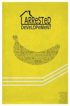 Arrested Development Minimalist Poster by MinimalistPosterShop