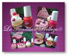 Brillos Labiales En Forma De Cupcake Y Tartas Muy Original ! - $ 20,00