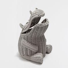 PANIER HIPPOPOTAME - Paniers - Décoration | Zara Home France