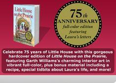 HarperCollins's official Little House website.
