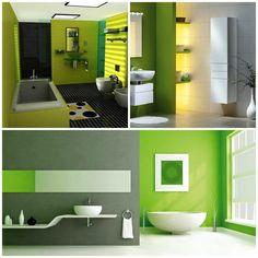 Leef Uniek | Inspiratie | Badkamer *Badkamerdesign geïnspireerd op groentinten!*
