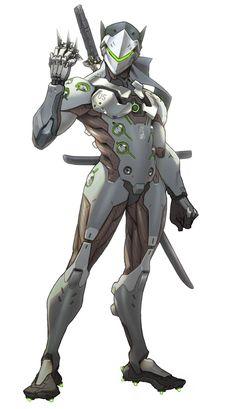 Genji Concept from Overwatch