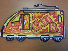 Waggon mit Namen Kato, Suitcase, Names, School, Creative, Briefcase