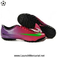 Nike Mercurial Vapor XI FG Rouge Jaune Fluo Noir