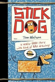 Stick Dog by Tom Watson. Stick Dog and his four friends - Stripes, Mutt, Poo-Poo and Karen - will do anything to steal some sweet-smelling hamburgers from a family at Picasso Park! Find under jSeries: Stick Cat / Stick Dog. Funny Books For Kids, Books For Boys, Childrens Books, Bad Drawings, Figure Drawings, Ohio, Stick Figure Drawing, Reluctant Readers, Wimpy Kid