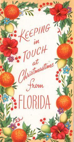 Florida Christmas.