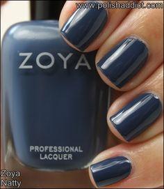 Zoya Natty #ZoyaNailPolish #nailpolish #swatches