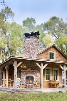 72 rustic log cabin homes design ideas