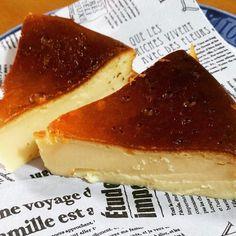 水切りなし!ヨーグルトとHMでベイクドチーズケーキ