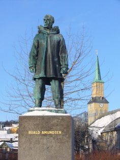 Norway - Roald Amundsen's most famous expedition started in 1903 with the hope of finding the North West Passage, which men had been searching for since In 1905 he was successful, and is now considered one of the first icons of Norway. Roald Amundsen, Tromso, To Reach, World History, North West, Arctic, The One, Statue Of Liberty, Norway