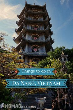 From the beauty of the Marble Mountains to the rugged Son Tra Peninsula, there is plenty of things to do in Da Nang in Central Vietnam. Check out our list to find out what else there is to do! #danang #vietnam #traveltips