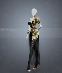 (closed) Auction Adopt - Outfit 437 by CherrysDesigns.deviantart.com on @DeviantArt