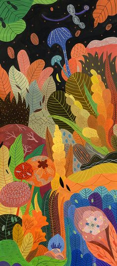 Texturas Y❤B <> Inca Pan foliage Art And Illustration, Art Plastique, Graphic, Textures Patterns, Illustrators, Folk Art, Art Projects, Art Photography, Abstract Art