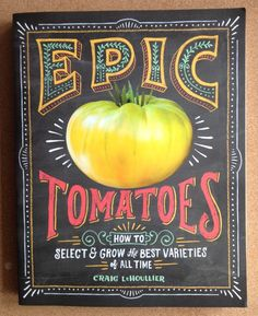 Join us on #groundchat Friday, June 26 at 2 pm EST for a chance to win Craig LeHoullier's Epic Tomatoes. Craig, @nctomatoman will chatting about the best soil conditions for growing tomatoes. Join us!