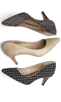 Stylish shoes with a comfortable height heel