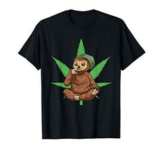 Smoking A Blunt, Weed Shirts, Weed Shop, Weed Humor, Shirt Shop, T Shirt, Design Show, Stoner, Funny Sloth