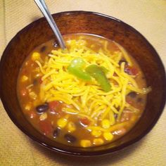 8 can Taco Soup. Definitely have to try this....