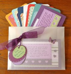 Packet No.13 of Bible Cards 7 Handmade Religious