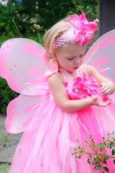Baby Butterfly Costume with tu tu