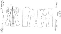 corset patent, dated 15th September 1863