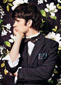 Ben Whishaw, the most adorable Q.
