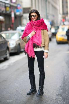New York Fashion Week Street Style is in full force! See all of the latest looks from outside the shows here!