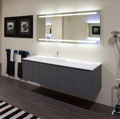 Spectacular Badspiegel mit Beleuchtung