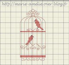 MARIE-AMELIE cage aux oiseaux