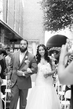 Downtown Richmond VA wedding by @shalesedanielle  Planning @thecarolinedoll Flowers @vogueflowers  Gown @lexsofcarytown @louboutinworld @katespadeny