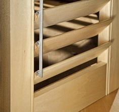 how to make wooden louvered windows - Google Search