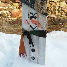 Sněhulák dřevěný Bottle Opener, Wall, Walls
