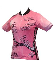 Cherry Blossom Cycling Jersey