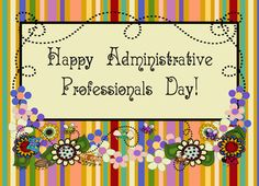 Administrative Professionals Day - Google Search