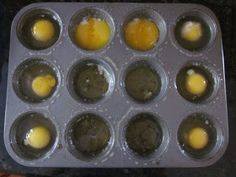 Creatively Domestic: Make Ahead Breakfasts: Muffin Tin Eggs