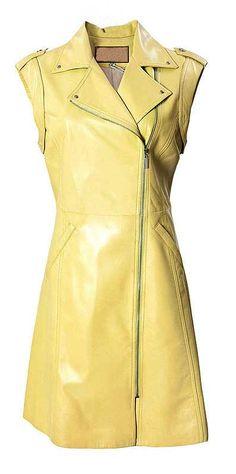 Motivated Biker Leather Dress - # 772 : Makeyourownjeans.com, Custom Jeans | Designer Jeans