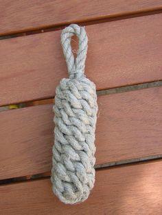 Réaliser une défense cylindrique (pare battage) - nico-matelotage                                                                                                                                                                                 Plus